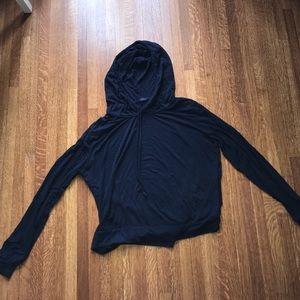 Soft navy jacket